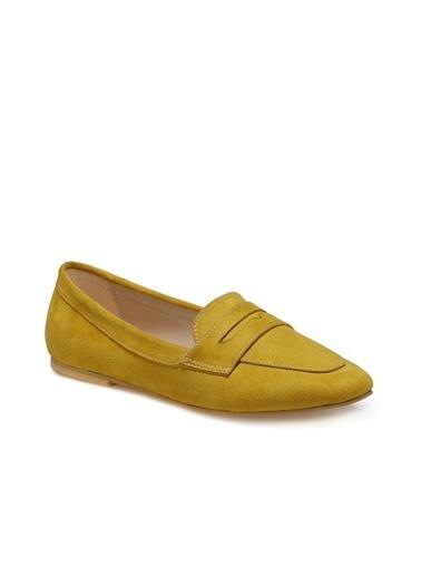 Miss F Ayakkabı Hardal